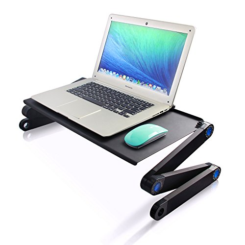 Fancy Buying Laptop Stand with Cooling fan, Adjustable Laptop Stand Table for Bed/Sofa Laptop Cooling Pad, Ergonomics Design, Portable by Fancy Buying (Image #4)