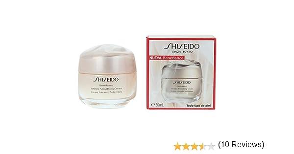 Shiseido Benefiance Wrinkle Smoothing Cream 50 Ml - 50 ml: Amazon.es