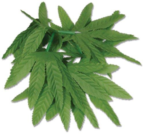 Beistle 57410 12-Pack Tropical Fern Leaf Wristlet/Anklet, 10-Inch