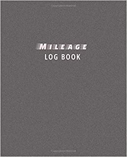 mileage log book driver s mileage tracker for taxes record your