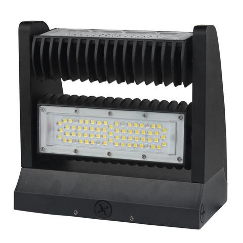 EZ40 Adjustable Tilt Head LED Wall Pack, 80W, 130 Lumens/W, 5 Year Warranty by LED Waves (Image #2)