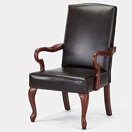 Fine Amazon Com Faux Leather Accent Chair With Wood Frame High Creativecarmelina Interior Chair Design Creativecarmelinacom