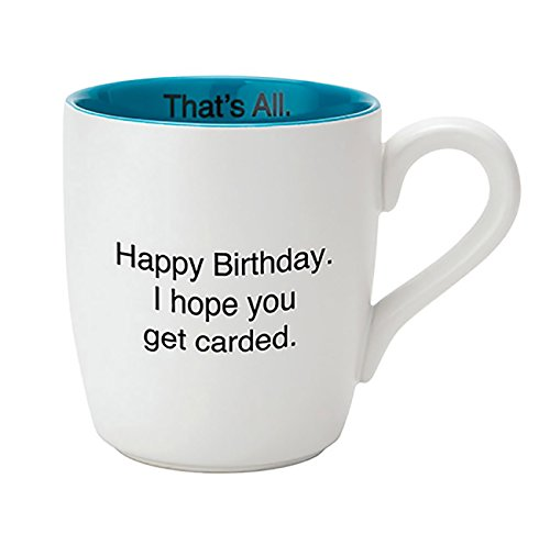 Cancer Hope Mug (SB Design Studio MUG28-2690F Get Carded Ceramic Coffee Mug)