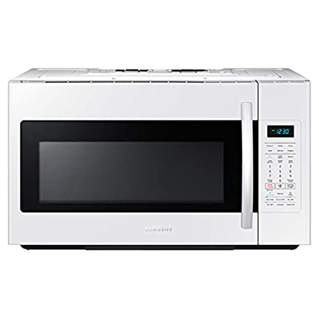 Amazon.com: Samsung me18h704sfw 1.8 CU. FT. 1000 W over-the ...