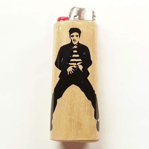 Elvis Presley Lighter Case Holder Sleeve Cover Fits Bic Lighters