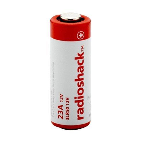 RadioShack 23A, 12V (12 Volt) Alkaline Battery for Remote Controls - 1 Pack