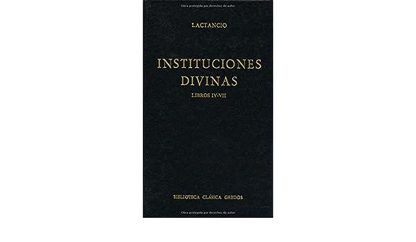 Instituciones Divinas Vol.3