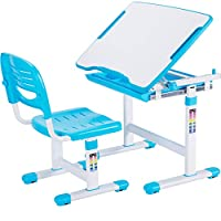 VIVO Height Adjustable Childrens Desk & Chair Kids Interactive Work Station (Multiple Colors)