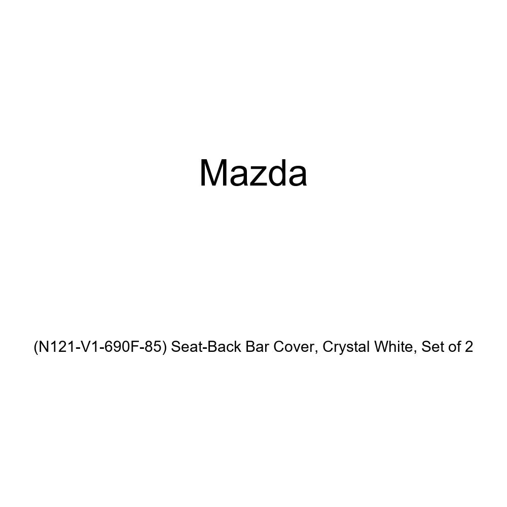 Mazda Genuine Crystal White Set of 2 N121-V1-690F-85 Seat-Back Bar Cover
