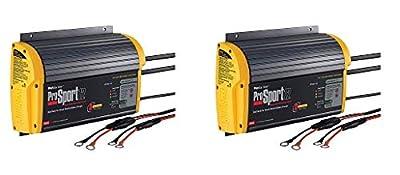 ProMariner 43012 ProSport 12 12 Amp, 12/24 Volt, 2 Bank Generation 3 Battery Charger (2-(Pack))