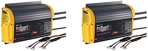 ProMariner 43012 ProSport 12 12アンペア 12/24ボルト 2バンク ジェネレーション 3バッテリー充電器  2-(Pack)