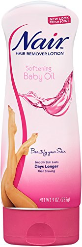 Nair Lotion Hair Remover With Baby Oil -- 9 fl oz - Hair Lotions
