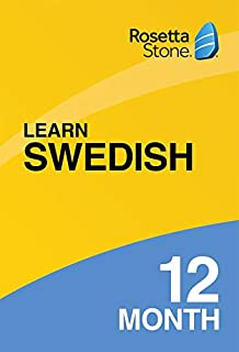 Rosetta Stone: Learn Swedish for 12 months on iOS, Android, PC, and Mac [Activation Code by Mail] (B07HGBDP4B) | Amazon price tracker / tracking, Amazon price history charts, Amazon price watches, Amazon price drop alerts