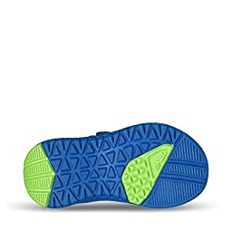 Teva Psyclone 6 Sandal (Toddler/Little Kid), Blue/Lime, 10 M US Toddler