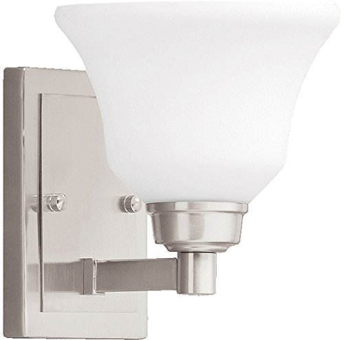 Kichler 5388NI Langford Wall Sconce 1-Light, Brushed Nickel