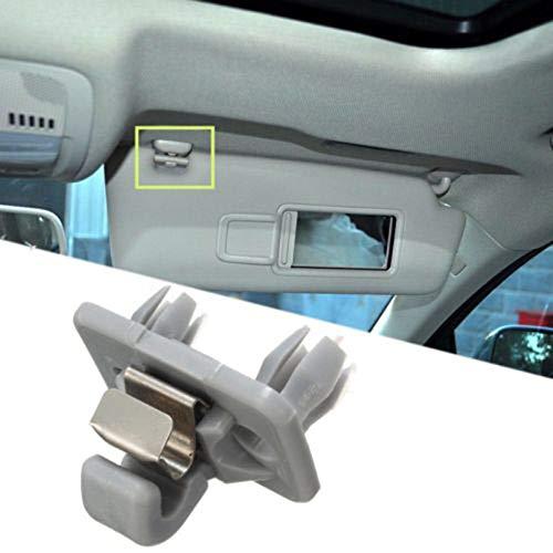 Teekit 8U0857562A Soporte de Gancho para Visera Interior para Audi A1 A4 A5 Q3 Q5
