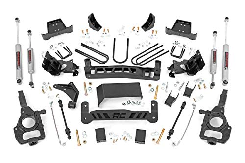 (Rough Country 43130 5-inch Lift Kit for 98-11 Ford Ranger)