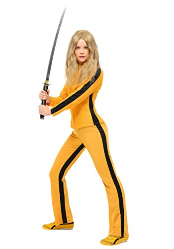 [Fun Costumes Womens Beatrix Kiddo Women's Costume Large] (Beatrix Kiddo Costume)