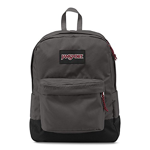 - JanSport Black Label Superbreak Backpack - Forge Grey - Classic, Ultralight