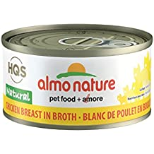 Almo Nature HQS Legend Natural Cat Chicken Breast (24 Pack of 2.47 oz/70g cans)