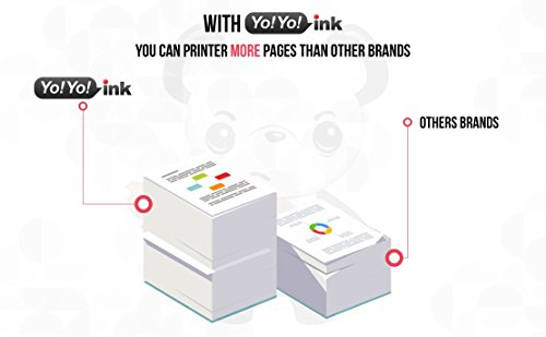 YoYoInk 2 Pack Remanufactured Ink Cartridges Replacement for PG210XL 210 XL (2 Black) for MP250 MP280 MX410 MX340 MP495 Photo #3