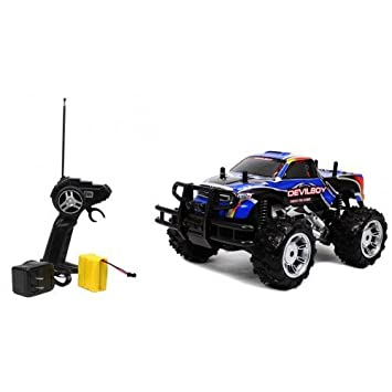Rechargeable 1:14 Extreme Work Devil Boy RC Monster Truck RTR RC TRUCK  Extremely Great