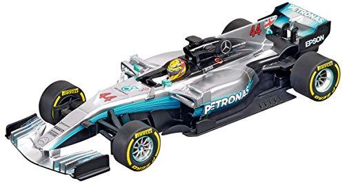 Carrera 20027574 27574 Mercedes-Benz F1 W08 L. Hamilton No.44 1: 32 Scale Analog Evolution Slot Car Racing Vehicle, Gray from Carrera