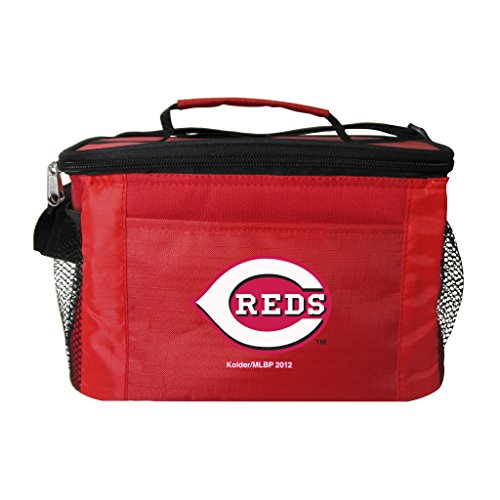 MLB Cincinnati Reds Kooler (6 Pack), One Size, Multicolor