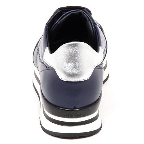 blu Sneaker Donna cucitura H222 H Argento Hogan Shoe E4438 Blu Woman 5qtwpx