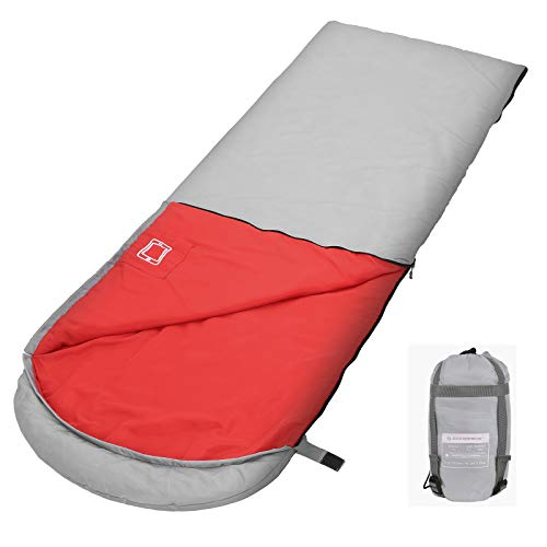 SONGMICS Sleeping Bag Lightweight for 3-4 Seasons