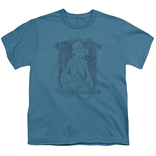 Youth: Popeye - Popeye's Gym Kids T-Shirt Size - Gym Popeyes