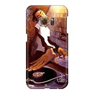 Protective Cell-phone Hard Covers For Samsung Galaxy S6 With Custom High-definition Dj 3d Pictures LauraAdamicska