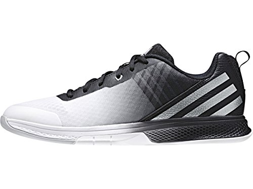 adidas Women's Shoes | Volley Assault 2W Volleyball, Black/Matte Silver/Light Onix, (13 M US) by adidas