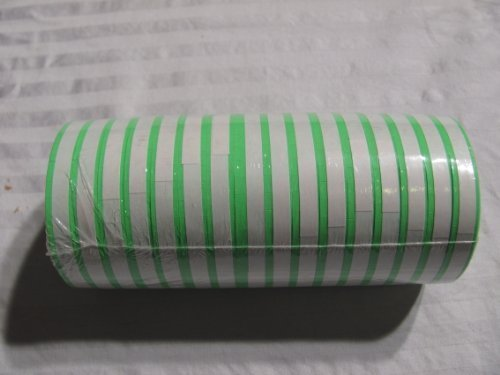 Green Labels for Monarch 1110 (16Rolls 17,000 labels) Free Ink by Generic