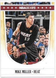 Mike Miller 2011-12 NBA Hoops Miami Heat Card - Miller Nba Mike