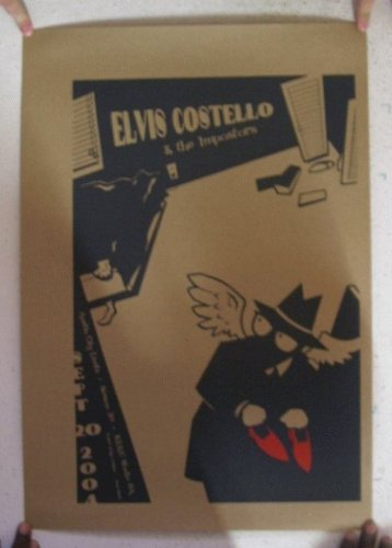 Elvis Costello And The Impostors September 20th 2004 Poster