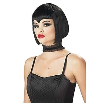 California Costumes Women's Va Va Vamp Wig,Black,One Size