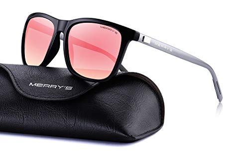 MERRY'S Unisex Polarized Aluminum Sunglasses Vintage Sun Glasses For Men/Women S8286