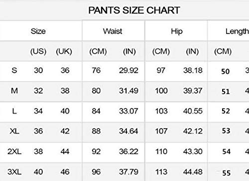 1 Pantalones Rasgados de Pantalones Lavados Hombres de Mezclilla Hombre Mezclilla de para de Mezclilla Corto Cortos Agujero Cortos wvSXSqT