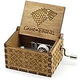 Stark Wolf Game Of Thrones Classic Mini Wooden Music Box