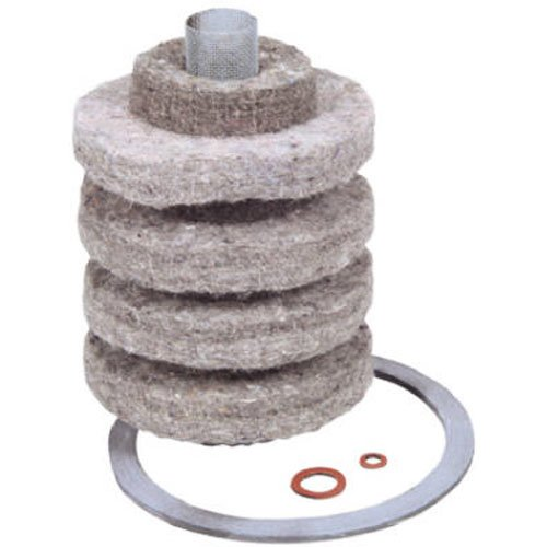 GENERAL FILTERS 2A-710 2A710 Replacement Cartridge for 2A700-A 10 Micron Wool Felt
