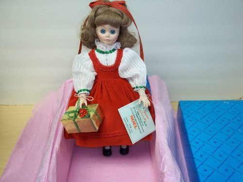 - Noel - First Christmas Porcelain Doll by Madame Alexander - MIB - NRFB