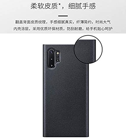 Soporte ,Ultra Delgado Flip Bumper Case para Galaxy A50//A30S//A50S,Astilla y Suhctup Cuero Funda Compatible con Galaxy A50//A30S//A50S,Protecci/ón Carcasa con Inteligente Ventana Lateral Visible
