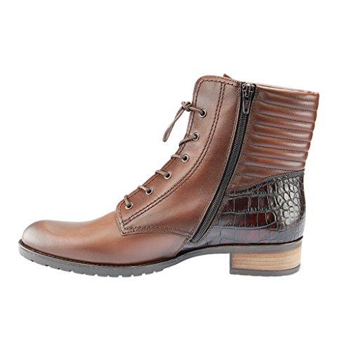Gabor Gabor Fashion - botas de cuero mujer marrón - castagno/teak(Eff)