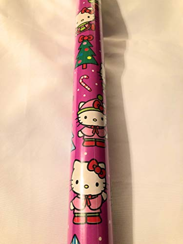Hello Kitty Holiday Wrapping Paper - 70 sq ft Roll ()