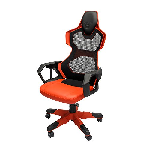 41DlzJked3L - E-Blue USA EEC307REAA-IA Cobra-R Gaming Chair E-Blue R PC Red Mesh, Red/Black