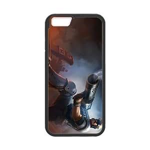 iPhone 6 Plus 5.5 Inch Cell Phone Case Black League of Legends Riot Graves LK1624828