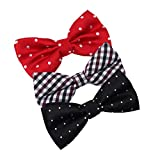 DBE0155 Gift For Halloween Microfiber Stain Pre-Tied Bow Ties For Young 3 Pack Bow Tie Set By Dan Smith