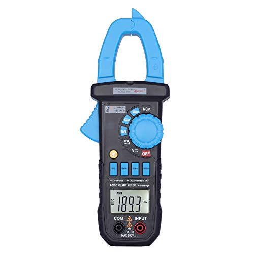 AimoTek ACM03 Plus Auto Range Digital Clamp Multimeter AC DC Current Voltage Resistance Capacitance Hz Meter Tester NCV -