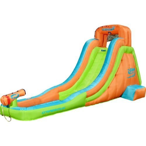 Turbo Slide Inflatable Water Slide With Blower